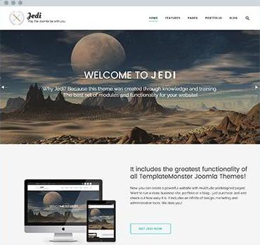 Dedy new joomla template