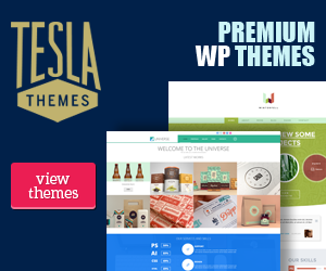 Premium WordPress themes by TeslaThemes