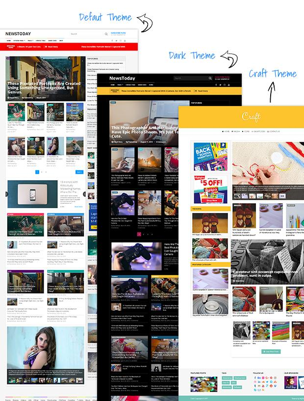 NewsToday magazine WordPress theme