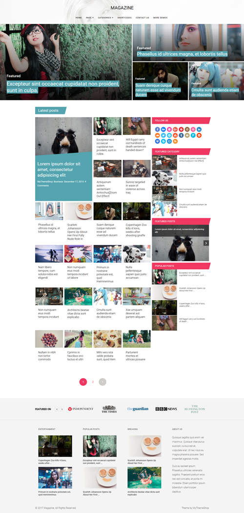 Dividend-Excellent Magazine WordPress Theme
