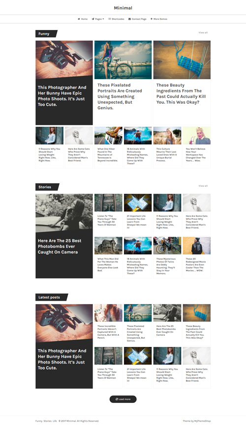 Dividend is Excellent Magazine WordPress Theme