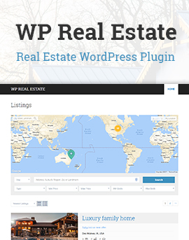 WP Real Estate – Free WordPress Plugin