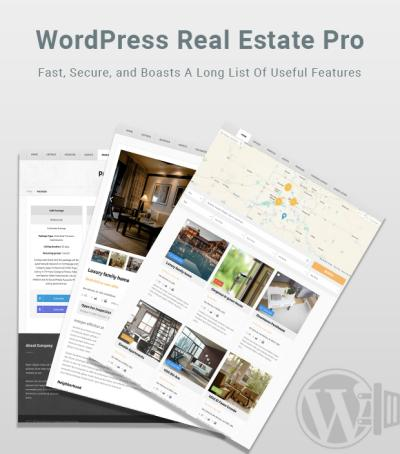 WP Real Estate Pro – WordPress Plugin