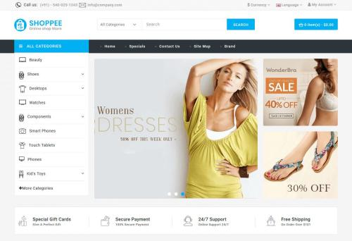 7 Perfect OpenCart Themes – See Them !