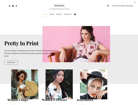 Ultra WordPress Theme - Fashion Skin for WooCommerce