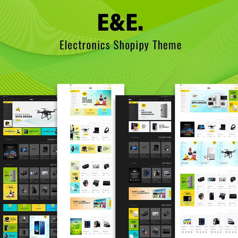 E&E - Electronics Shopify Theme
