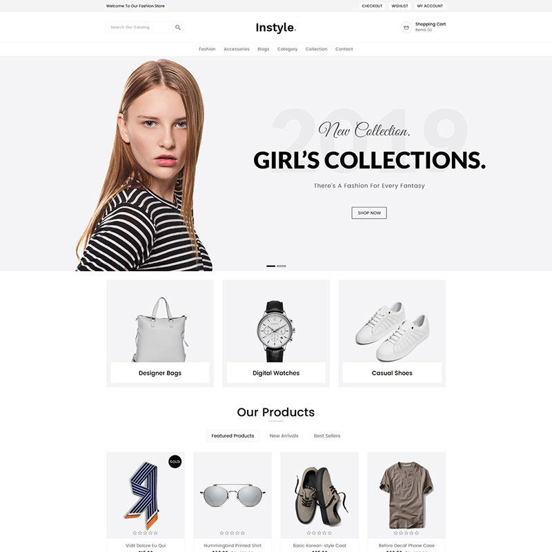 15 Beautiful and Conversion-Friendly Shopify Themes - Instyle Fashion Shopify Theme