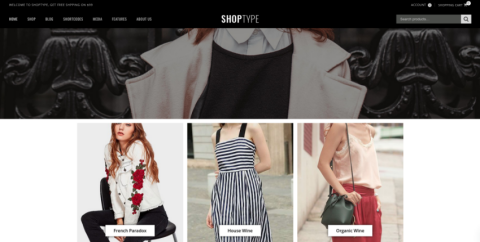 hopType - Fashion Store WooCommerce Theme