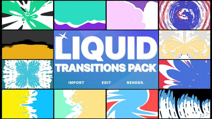 Ways For Designers To Further The Workflow-Liquid Transitions Pack For after Effects Intro